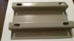 Пластина (переходник) 3 мм для установки импортного двигателя  5 -6.5 л.с МБ