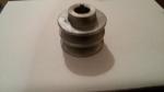 Шкив ведущий 2х-руч. d= 18 мм алюминевый к имп. двигателю Крот