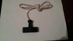 Шнур стартера 5,0 мм длина 1,1м  в сборе с ручкой Тайга
